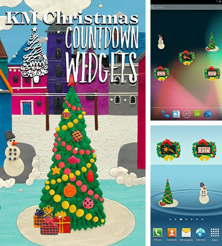 Besides Mp3 cutter Android program you can download KM Christmas countdown widgets for Android phone or tablet for free.
