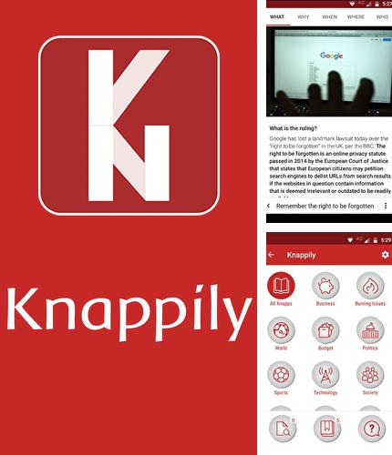 Download Knappily - The knowledge app for Android phones and tablets.