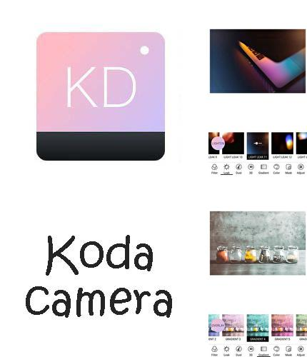 Besides BlaBlaCar Android program you can download Koda cam - Photo editor,1998 cam, HD cam for Android phone or tablet for free.
