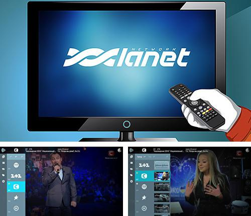 Descargar gratis Lanet.TV: Ukr TV without ads para Android. Apps para teléfonos y tabletas.