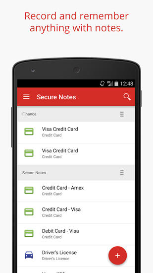 LastPass: Password Manager app for Android, download programs for phones and tablets for free.