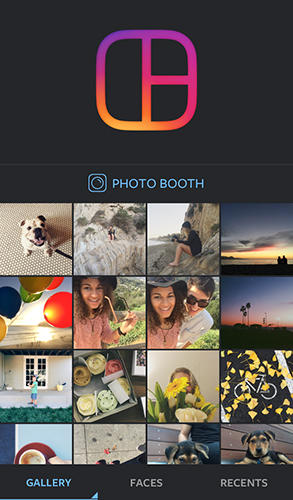 Layout from Instagram app for Android, download programs for phones and tablets for free.