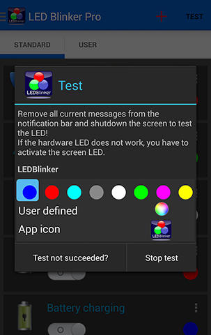 LED blinker app for Android, download programs for phones and tablets for free.