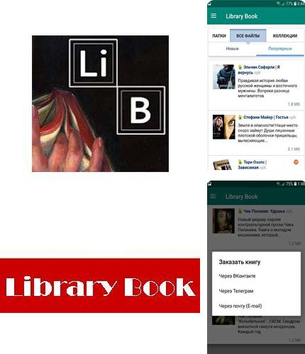 Descargar gratis Library book - Free books in apk para Android. Apps para teléfonos y tabletas.
