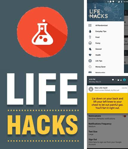 Download Life hacks for Android phones and tablets.