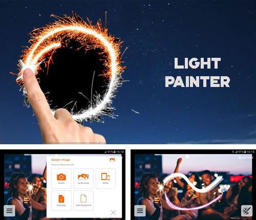 Besides Wi-fi blocker Android program you can download Light-Painter for Android phone or tablet for free.