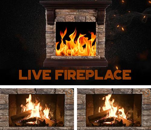 Besides Lyft Android program you can download Live fireplace for Android phone or tablet for free.