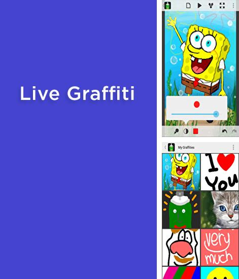 Besides AR Ruler app – Tape measure & Camera to plan Android program you can download Live Graffiti for Android phone or tablet for free.