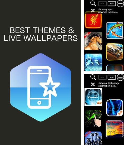 Download Live Wallpaper and Theme Gallery for Android phones and tablets.