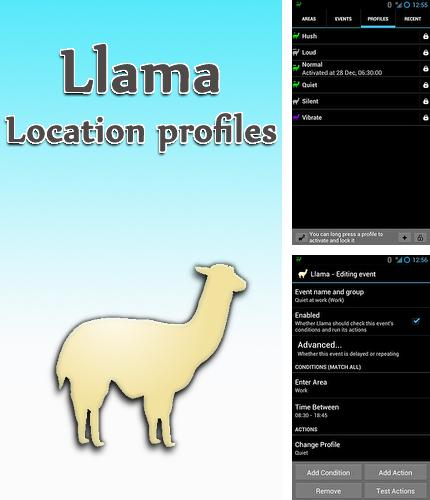 除了Opera mini Android程序可以下载Llama: Location profiles的Andr​​oid手机或平板电脑是免费的。