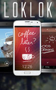 Download LokLok: Draw on a lock screen for Android - best program for phone and tablet.