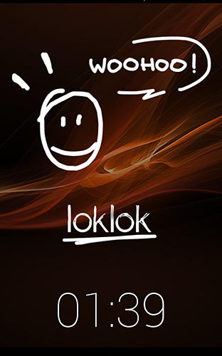 Capturas de pantalla del programa LokLok: Draw on a lock screen para teléfono o tableta Android.
