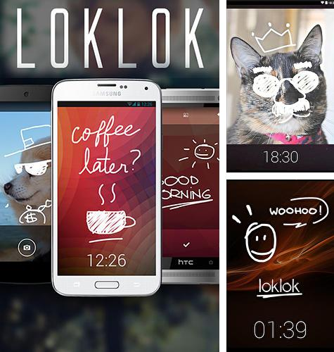 Descargar gratis LokLok: Draw on a lock screen para Android. Apps para teléfonos y tabletas.