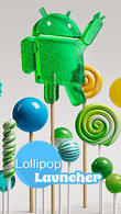 Download Lollipop launcher for Android - best program for phone and tablet.