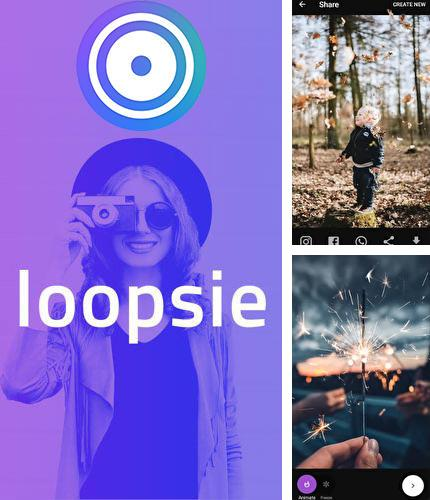 Besides Orphic Android program you can download Loopsie - Motion video effects & living photos for Android phone or tablet for free.