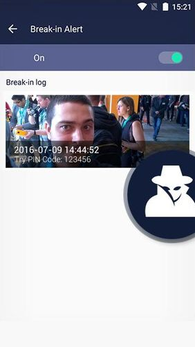 Screenshots of Lynx privacy - Hide photo/video program for Android phone or tablet.