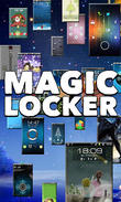Téécharger Magic locker pour Android - le meilleur programme sur le portable et la tablette.