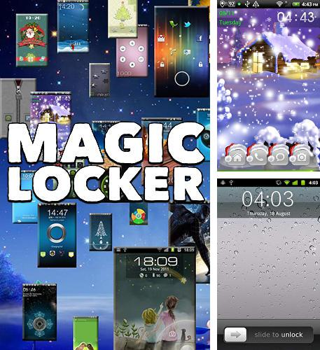 Besides Cornerfly Android program you can download Magic locker for Android phone or tablet for free.
