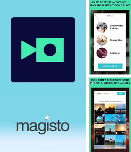 Besides Lite for Facebook - Security lock Android program you can download Magisto Video editor & maker for Android phone or tablet for free.