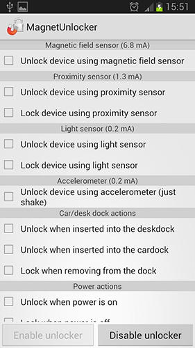 Magnet unlocker app for Android, download programs for phones and tablets for free.