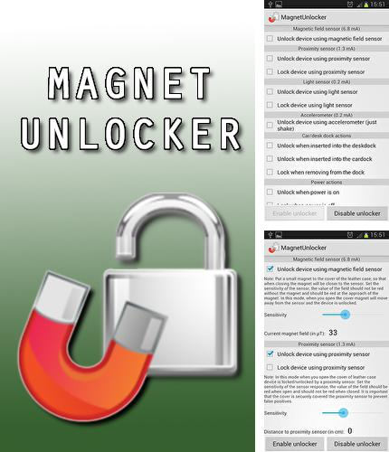 Besides QualityTime - My digital diet Android program you can download Magnet unlocker for Android phone or tablet for free.