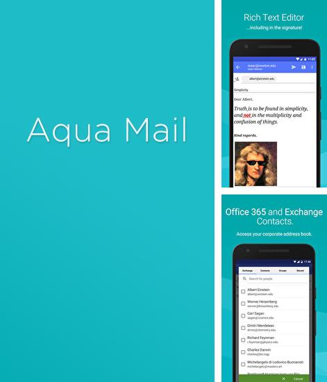 Besides Steam Android program you can download Mail App: Aqua for Android phone or tablet for free.