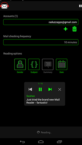 Mail reader app for Android, download programs for phones and tablets for free.