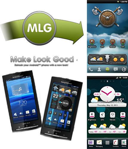 Besides GO Launcher HD Android program you can download Make look good for Android phone or tablet for free.
