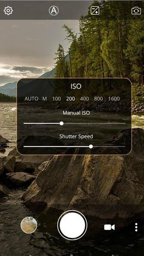 Manual camera: DSLR camera HD professional app for Android, download programs for phones and tablets for free.