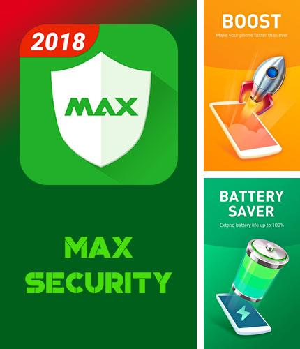 Besides GO keyboard Android program you can download MAX security - Virus cleaner for Android phone or tablet for free.