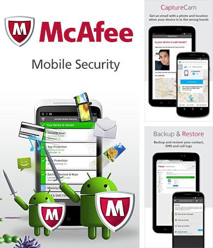 Besides VLC media player Android program you can download McAfee: Mobile security for Android phone or tablet for free.