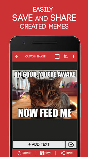 Meme Generator app for Android, download programs for phones and tablets for free.