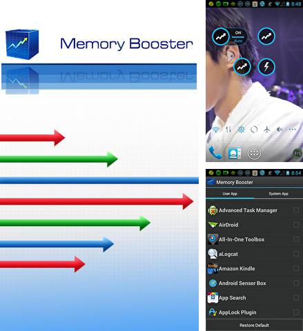 Download Memory booster for Android phones and tablets.