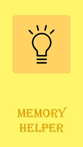 Memory helper: To do list notepad