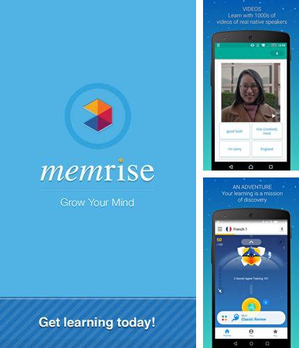 Download Memrise: Learn a foreign language for Android phones and tablets.