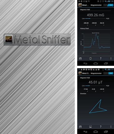 Besides Ondesly finance Android program you can download Metal Sniffer for Android phone or tablet for free.