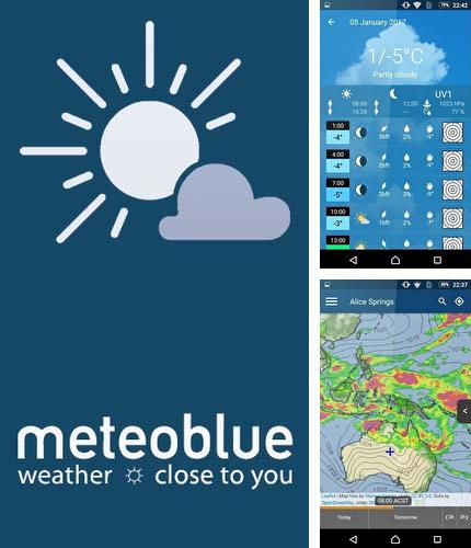 Besides ESPN Android program you can download Meteoblue for Android phone or tablet for free.