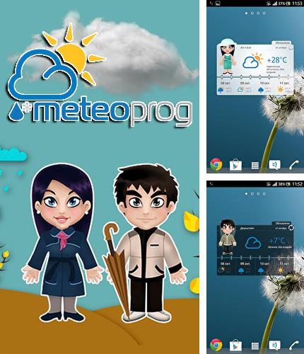 Descargar gratis Meteoprog: Dressed by weather para Android. Apps para teléfonos y tabletas.