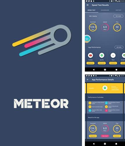 Download Meteor: Free internet speed for Android phones and tablets.