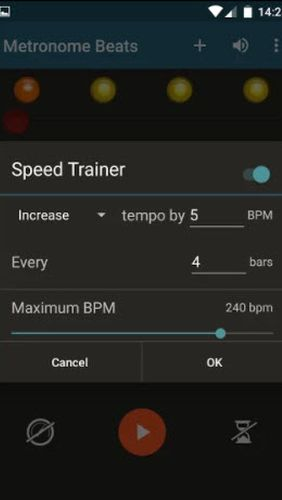 Metronome Beats app for Android, download programs for phones and tablets for free.