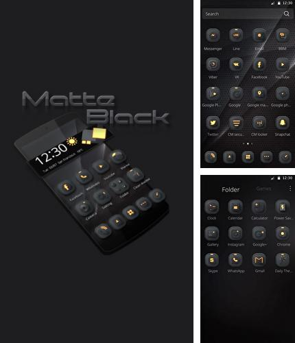 Besides RedPapers - Auto wallpapers for reddit Android program you can download Metta: Black for Android phone or tablet for free.