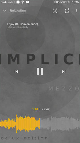 Mezzo: Music Player