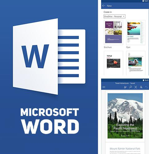 Besides Notepad Android program you can download Microsoft word for Android phone or tablet for free.