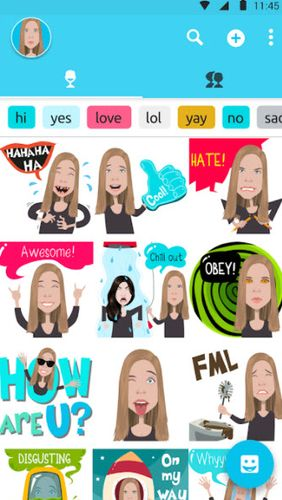 Mirror emoji keyboard app for Android, download programs for phones and tablets for free.