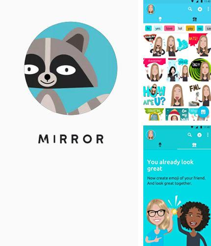 Download Mirror emoji keyboard for Android phones and tablets.