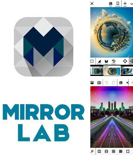 Besides Adobe: Scan Android program you can download Mirror lab for Android phone or tablet for free.