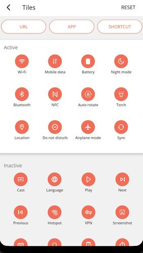 Les captures d'écran du programme MIUI-ify - Notification shade pour le portable ou la tablette Android.