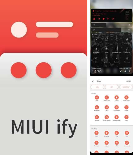 Besides ES Explorer Android program you can download MIUI-ify - Notification shade for Android phone or tablet for free.