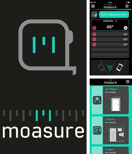 Descargar gratis Moasure – The smart tape measure para Android. Apps para teléfonos y tabletas.