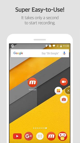 Download Mobizen: Screen Recorder for Android for free. Apps for phones and tablets.